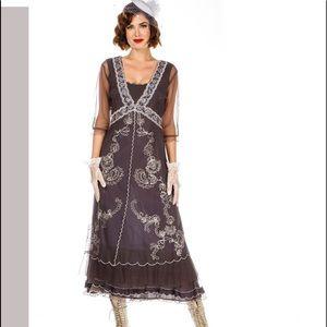 Nataya Downton Abbey Tea Party Gown, NWOT